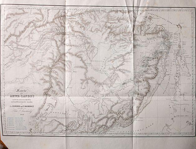 Путешествие и исследования Леопольда фон Шренка в Приамурье